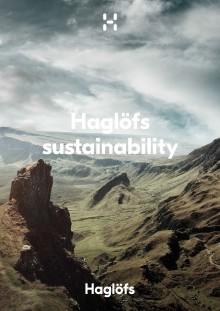 Haglöfs Sustainability Report 2016