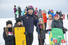 Barn i Östersund åkte skidor för en bättre värld och de globala målen