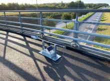 Ny smart uppfinning upptäcker vattensamlingar på Österleden