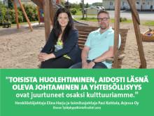 Arjessa – Eteran Työkykypalkintofinalisti 2017: Työntekijän hyvinvointi heijastuu suoraan asiakastyöhön
