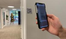 QR-koder med SSG On site testas på Östrands massafabrik