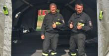 Myggfria nätter för brandmännen i Ljusdal
