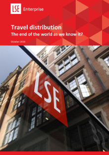 Travel distribution - The end of the world as we know it?