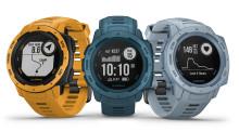 Garmin lancerer tre nye farver til det populære Instinct adventure GPS-ur