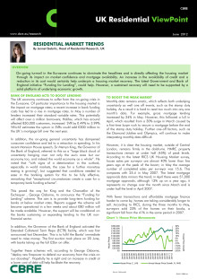 Residential market trends