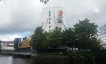 Borås förvandlas åter igen till ett gigantiskt utomhusgalleri