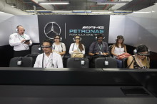 MERCEDES AMG PETRONAS Formula OneTM Team Adopts Epson's Moverio Smart Glasses for Garage Tour