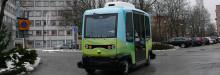 Stockholm blir först i Skandinavien med självkörande bussar på allmän väg