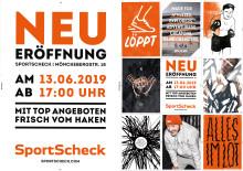SportScheck Hamburg feiert Wiedereröffnung: nun geht auch im Norden das neue Filialkonzept an den Start