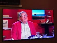 """Michael Segerström talade om """"Till Arre från pappa"""" i SVT:s Go´kväll"""