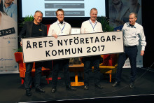 Nio kan bli Årets nyföretagarkommun 2018