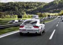 """Audi fortsätter tester med självkörande """"Jack"""" på Autobahn"""