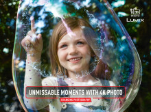 ​Panasonic begins television advertising showcasing 4K Photo feature in the LUMIX camera range
