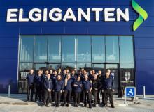 Stor åbningsfest i den nye Elgiganten i Roskilde