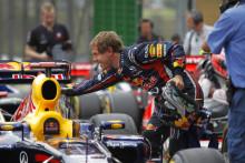 Vettel tar nytt rekord på Pirellis nya däck: 15 pole positions på en säsong.