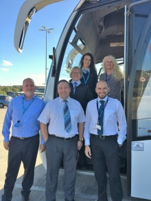 Go North East named first partner fully validated by National Express as part of new global standards initiative