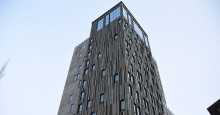 Färgneutralt solskyddsglas med hög ljustransmission Kust Hotell & Spa i Piteå