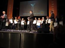 Klädesholmen Seafood fick Soliditets Diamantpris 2012