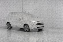 Ford kamouflerar prototyper med unikt  3D-mönster