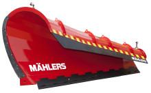 Mählers premiärvisar högkastande frontplog med inbyggd säkerhet