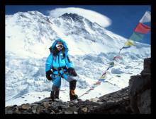 "ERV sponsrar Annelie Pompe som bestiger ""Seven summits"""