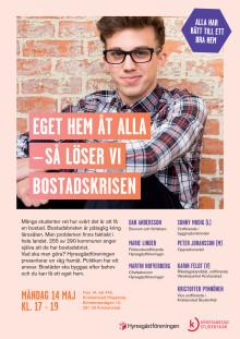 Samtal om bostadssituationen i Kristianstad.
