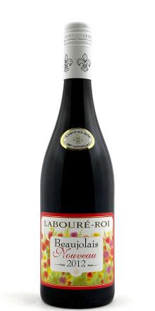 Beaujolais Nouveau kommer i år från producenten Labouré-Roi - säljstart 15 november