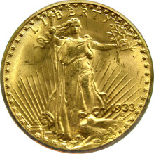 1933 Double Eagle – World's most expensive gold coin goes on show