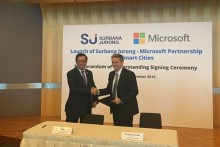 Surbana Jurong and Microsoft to develop cloud-based Smart City in a Box solutions, enhance app offerings
