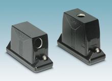 Heavy-duty connectors for outdoor applicat