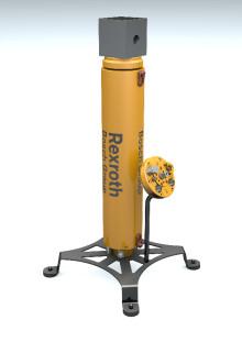 Sikker operasjon i et kvart århundre. Rexroths subsea ventilaktuator reduserer energiforbruket med inntil 75 prosent.