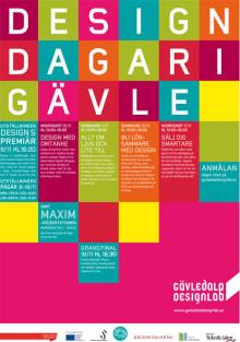 Premiär för Designdagar i Gävle