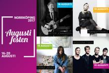Musiksatsning under populära Augustifesten