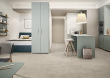 Villeroy & Boch Fliesen, nouveautés 2020 :  DAYTONA  -  La base idéale pour les intérieurs modernes - Un concept de revêtements de sol fonctionnel au look de béton discret