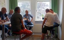 Startworkshop för BAB och Höganäshem partneringprojekt