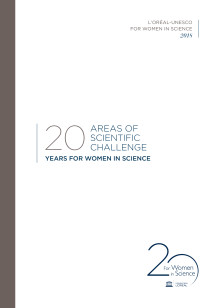 20 areas of scientific challenge - 20 year For Women in Science