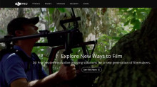 DJI Launches DJI Pro Website for Professional Cinematographers and Filmmakers