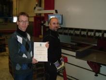 Målerås Mekaniska miljöcertifierad enligt ISO 14001