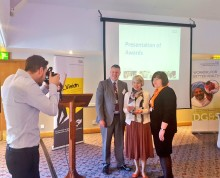 Bereavement Cuppa recognised with an award