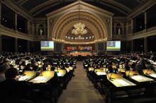 Valet ämnet i många kyrkomötesmotioner
