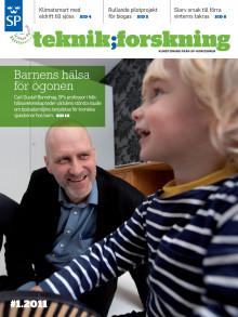 Teknik;Forskning 1/11 - Barnens hälsa för ögonen