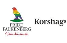 Korshags är medarrangör av Pride Falkenberg