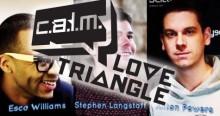 The CALM LO▼E TRI▲NGLE Goes Live!!