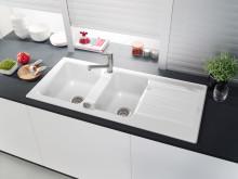 Un design classique interprété de façon contemporaine - Architectura : nouvel évier généreux pour meubles sous-évier de 80 cm