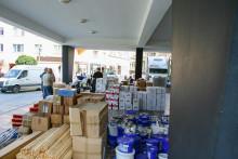 Hjælp i forbindelse med oversvømmelserne ud over landegrænser