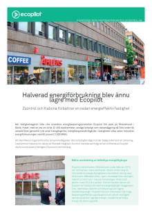 Halverad energiförbrukning blev ännu lägre med Ecopilot