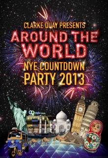 PRESS RELEASE: CLARKE QUAY AROUND THE WORLD NEW YEAR'S EVE COUNTDOWN