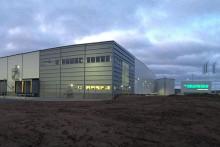 Energisnål logistikanläggning klar i Helsingborg