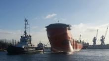 Nyt SOV til Statoil søsat i Polen.