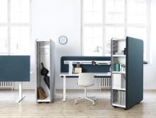 Domo - eleganta produkter som förbättrar ljudmiljön i nutida kontoret